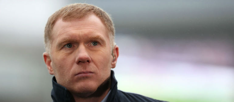 Scholes: United win would rescue a disappointing season