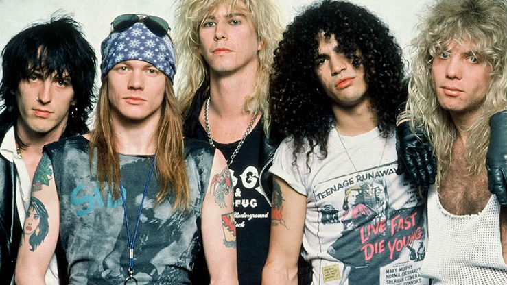 Guns N' Roses Rock Slane Tonight
