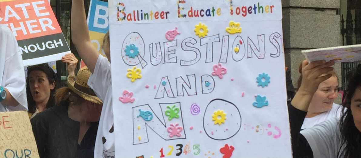 A Protest Over A Southside School's Been Held