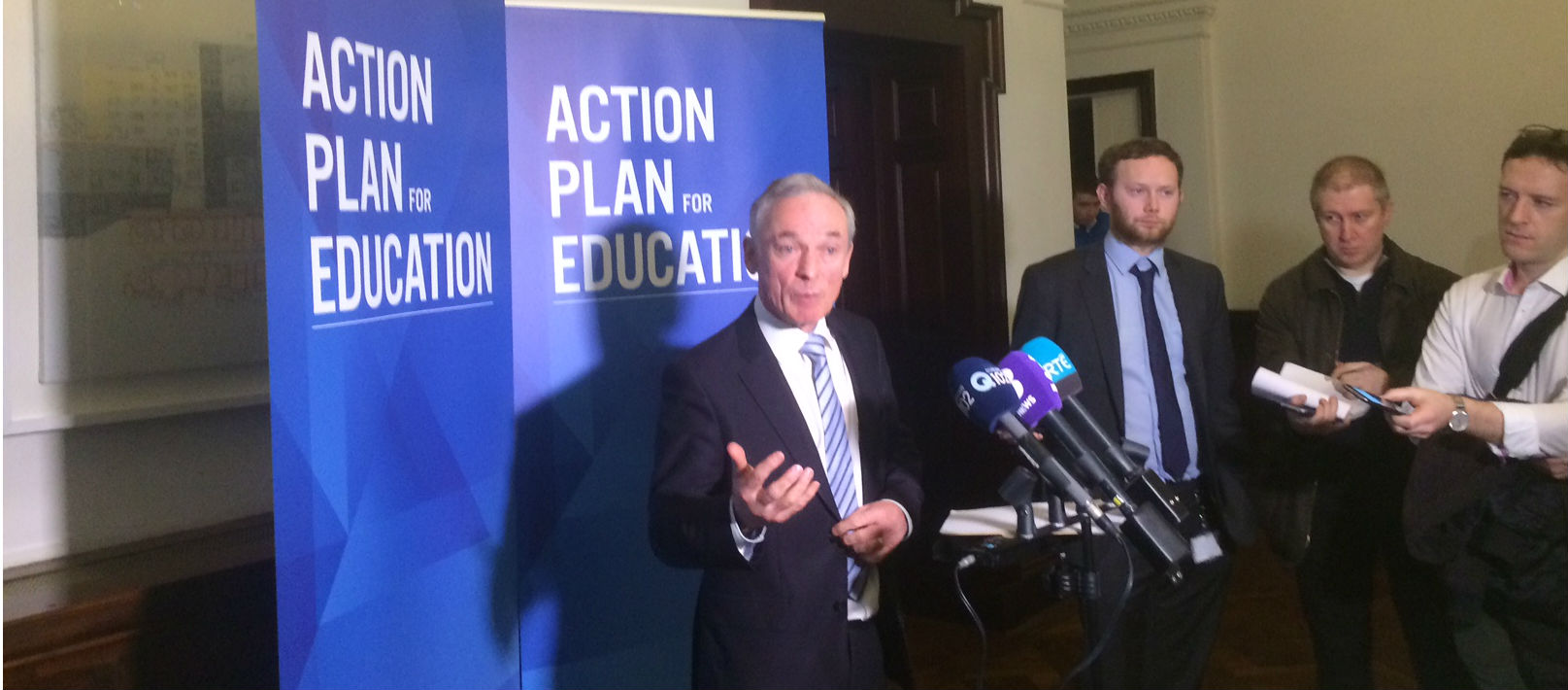 Richard Bruton Tightlipped On Department Preference