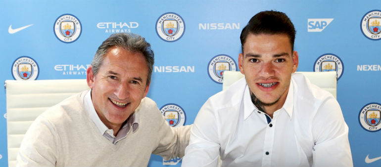 Ederson signs for Manchester City
