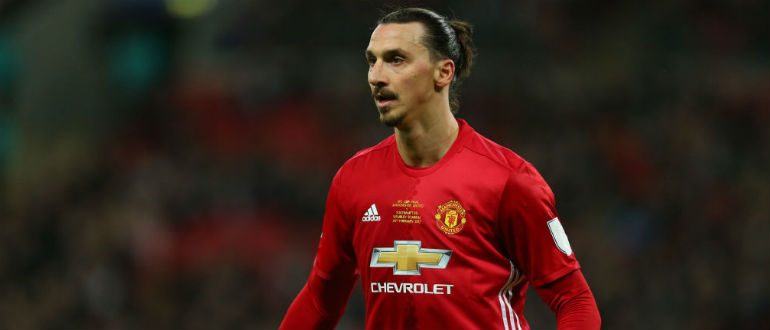Zlatan released by Manchester United