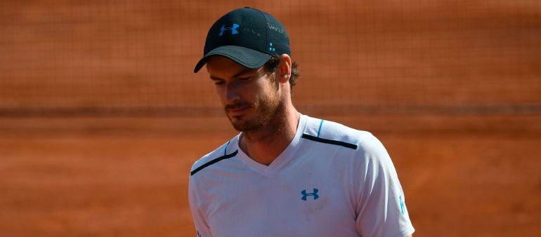 Murray crashes out of the French Open