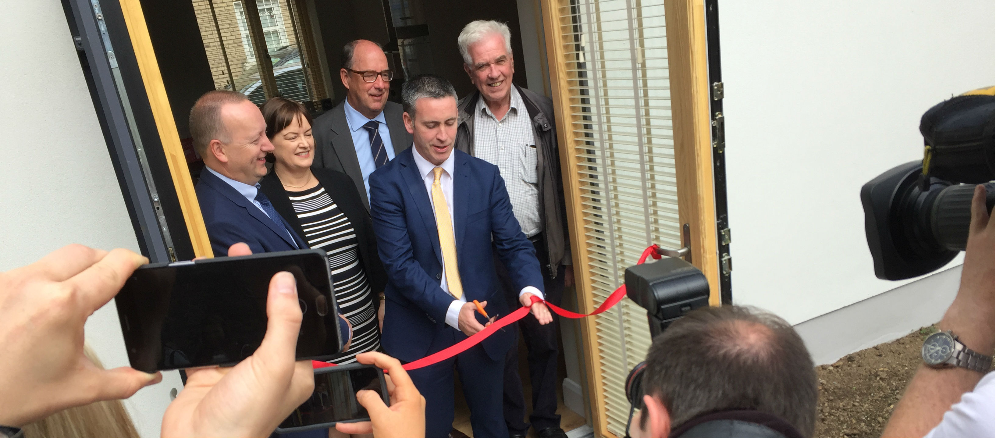 New Social Homes Opened In Dublin
