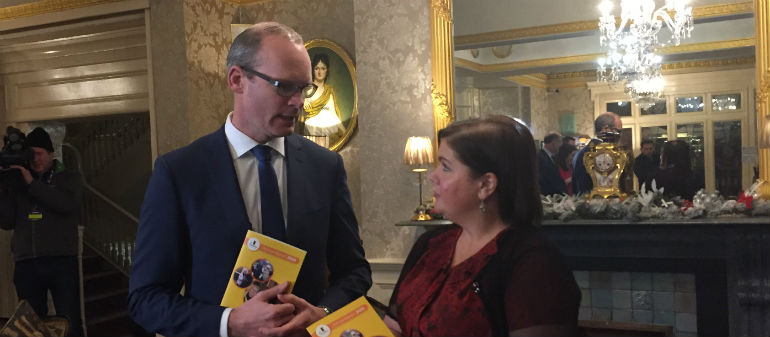 Simon Coveney's become Fine Gael's Deputy Leader