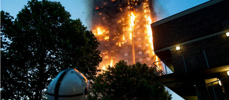Anger Grows Over London Fire