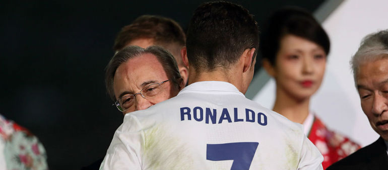 Perez yet to speak to Ronaldo