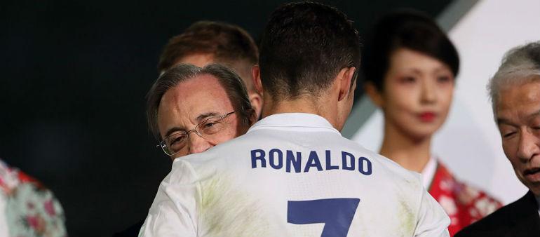 Perez yet to speak to Ronaldo