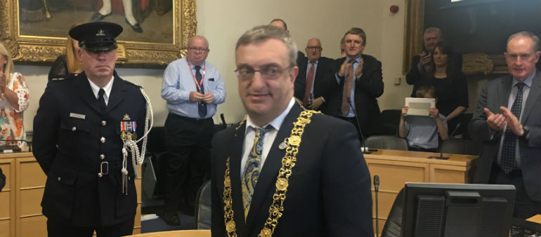 A New Lord Mayor's Elected
