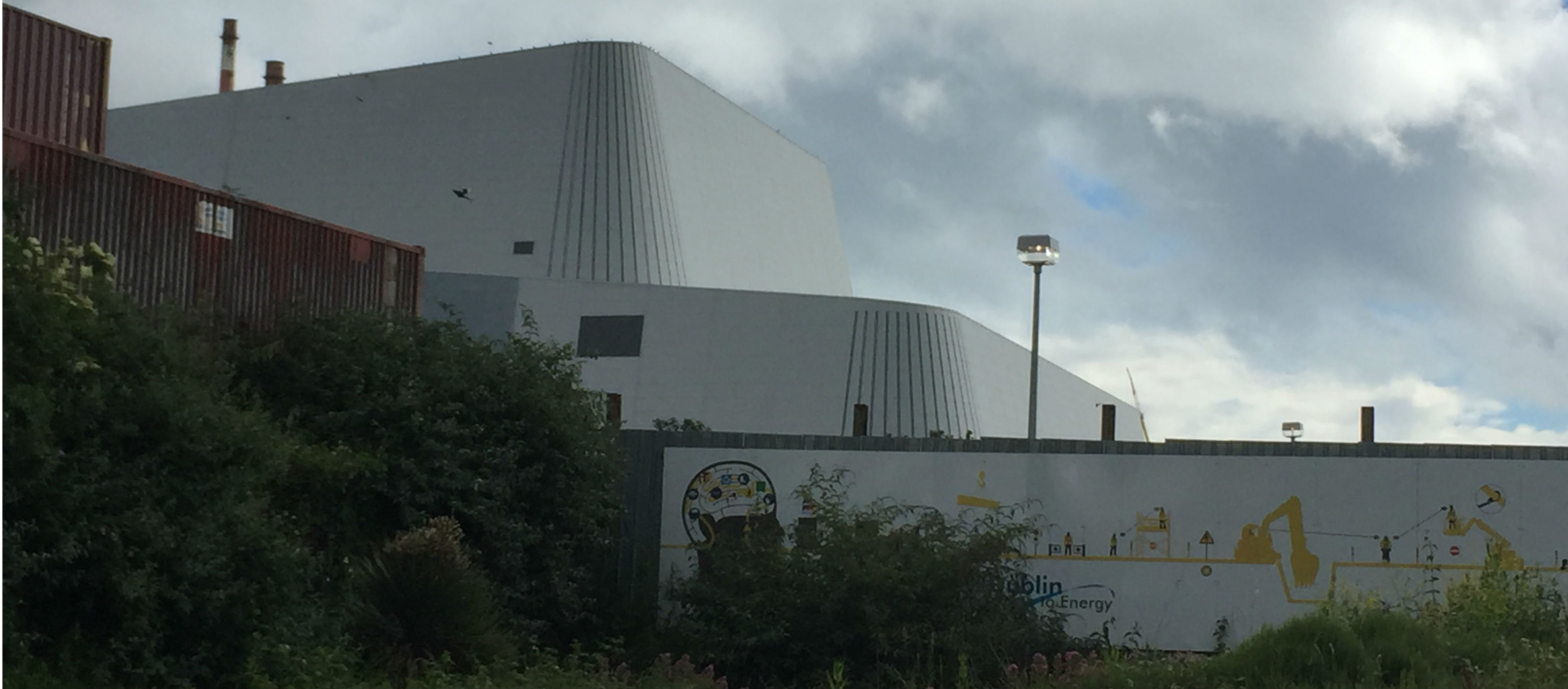 Councillors Ask About Poolbeg Incinerator Cladding