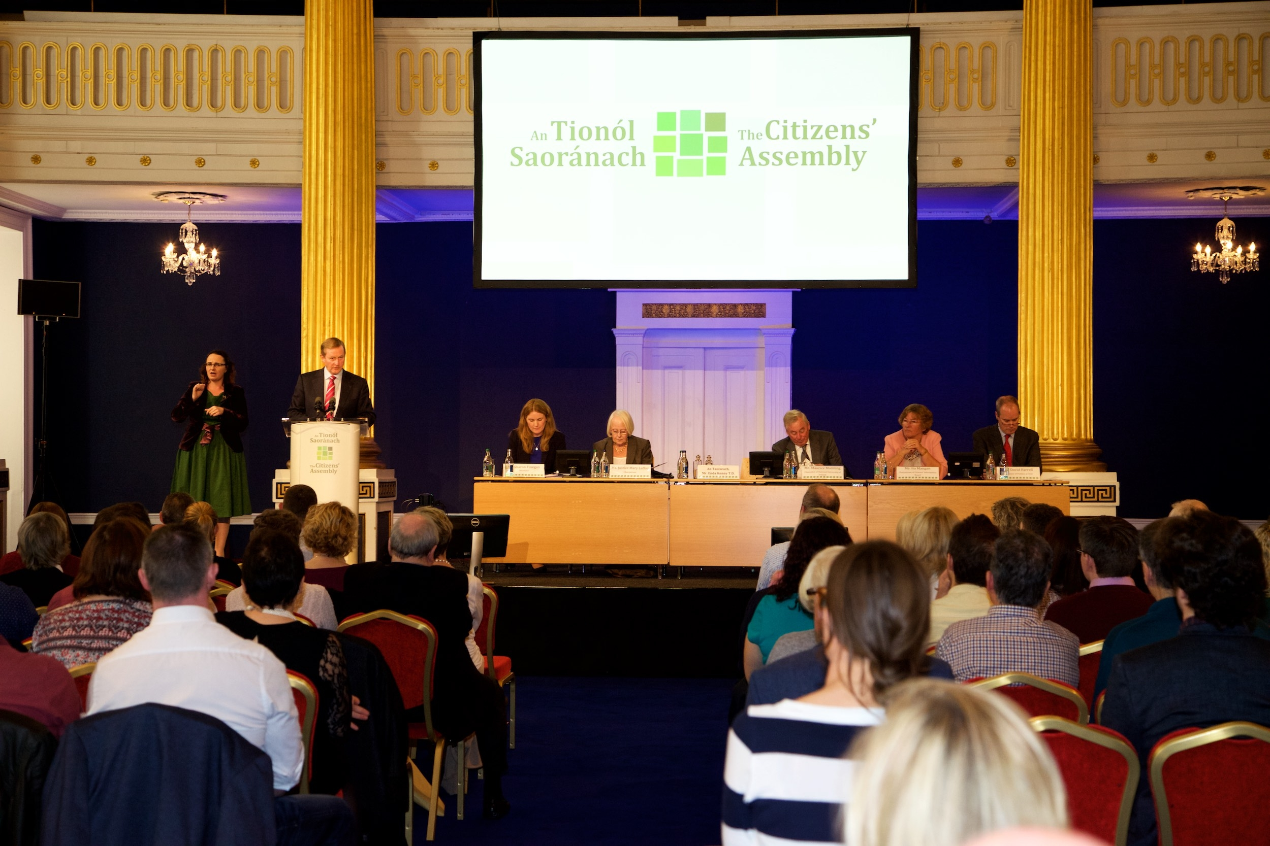 Citizens' Assembly votes for action on aging population.