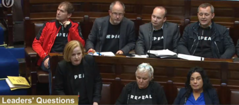 Repeal Jumpers Could Be Banned From Dail