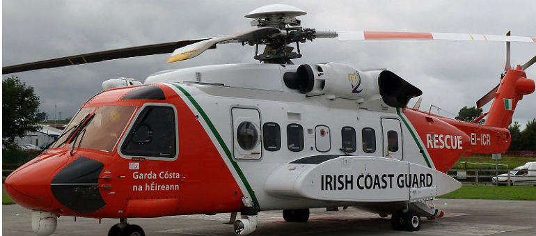Search Off Mayo Coast Continues