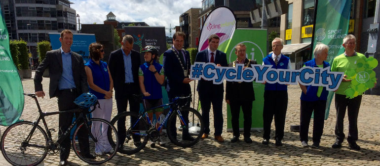 City Bike Event Attracts Thousands