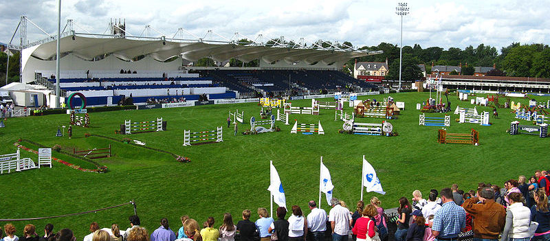 Dublin Horse Show Opens