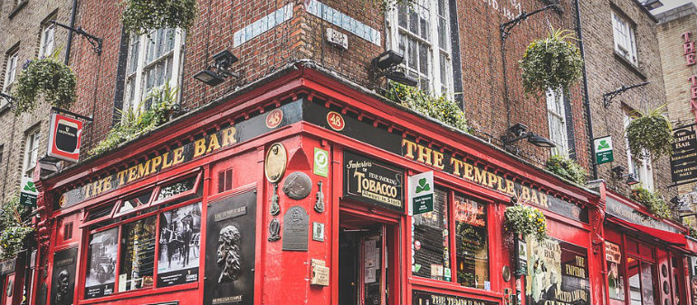 Temple Bar's Getting A Make-Over