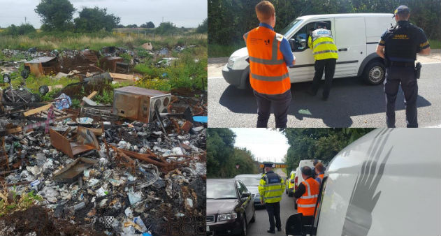 Gardai Crackdown On Fly-Tipping