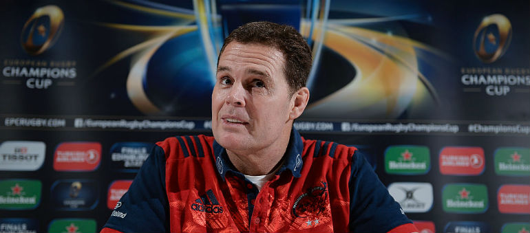 Erasmus 'still emotional' over Munster departure