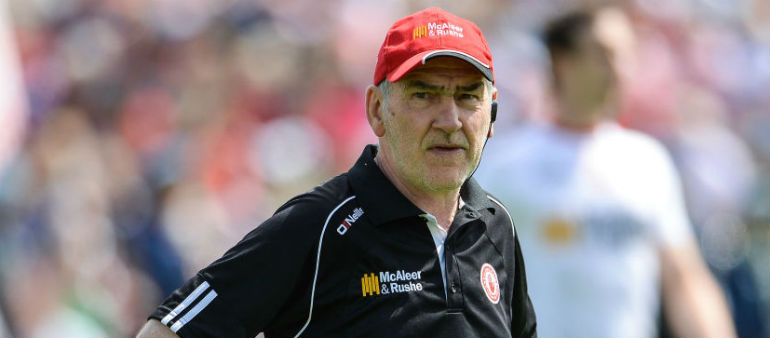 Harte: 'These players want to make history for Tyrone'