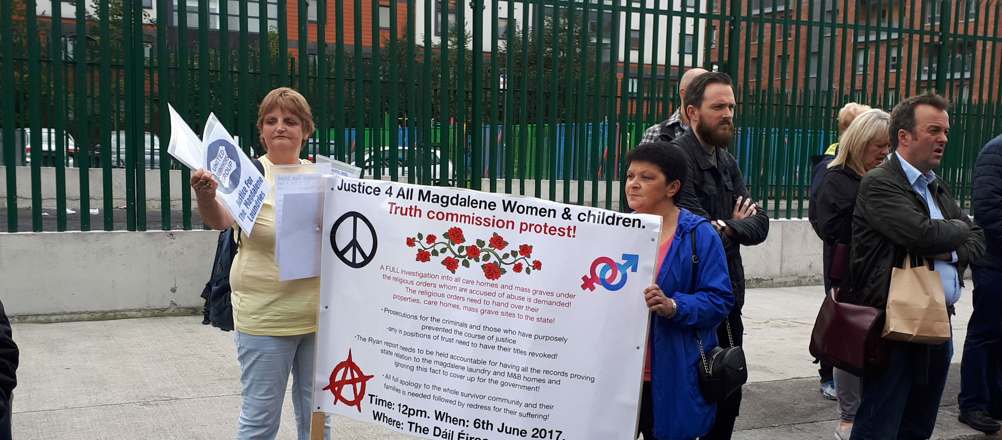 City Centre Rally For Magdalene Survivors