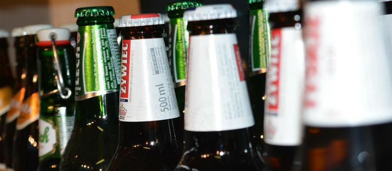 Harris In Booze Push