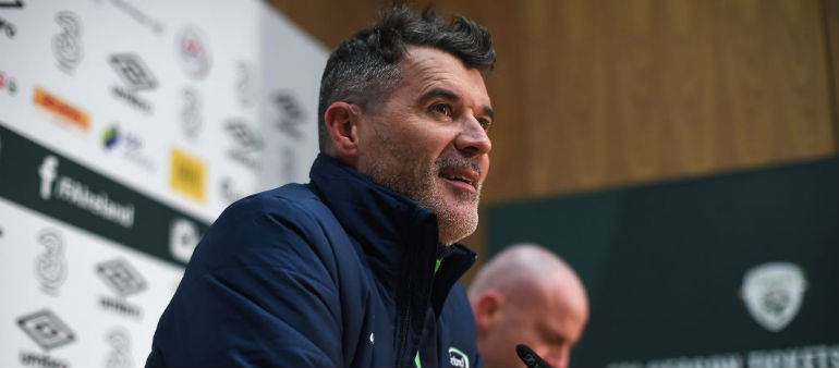 Keane keeping his fingers crossed