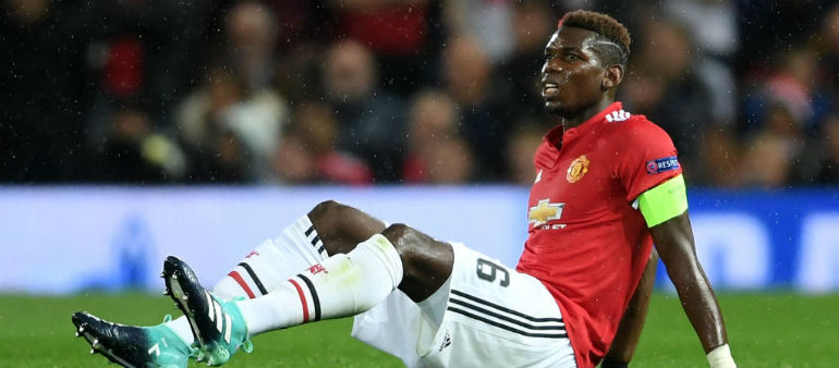 Pogba pain for United