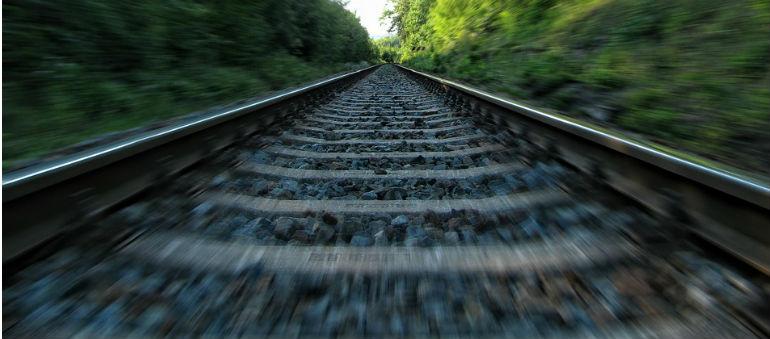 Train Derails At Dun Laoghaire