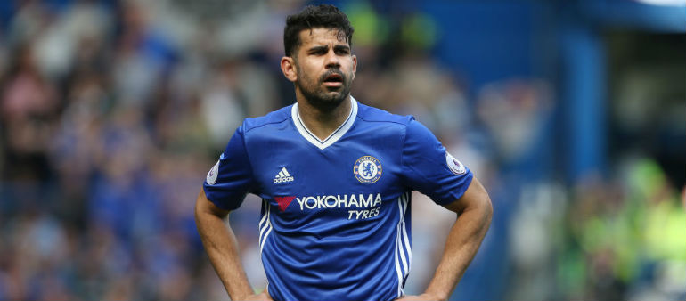Costa on his way out of Chelsea