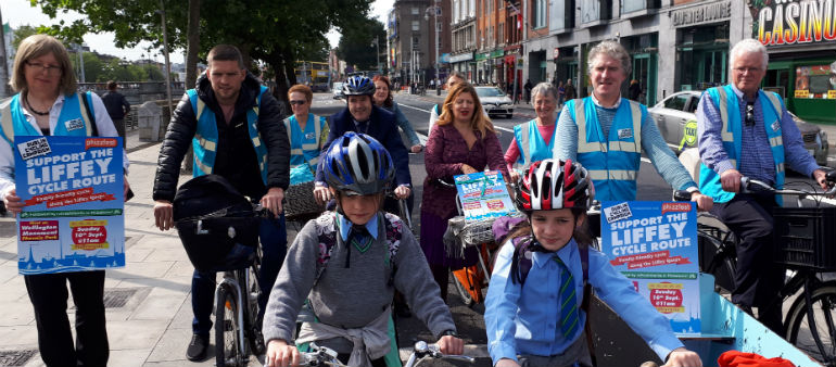 Transport Bosses Suspend Liffey Cycle Route