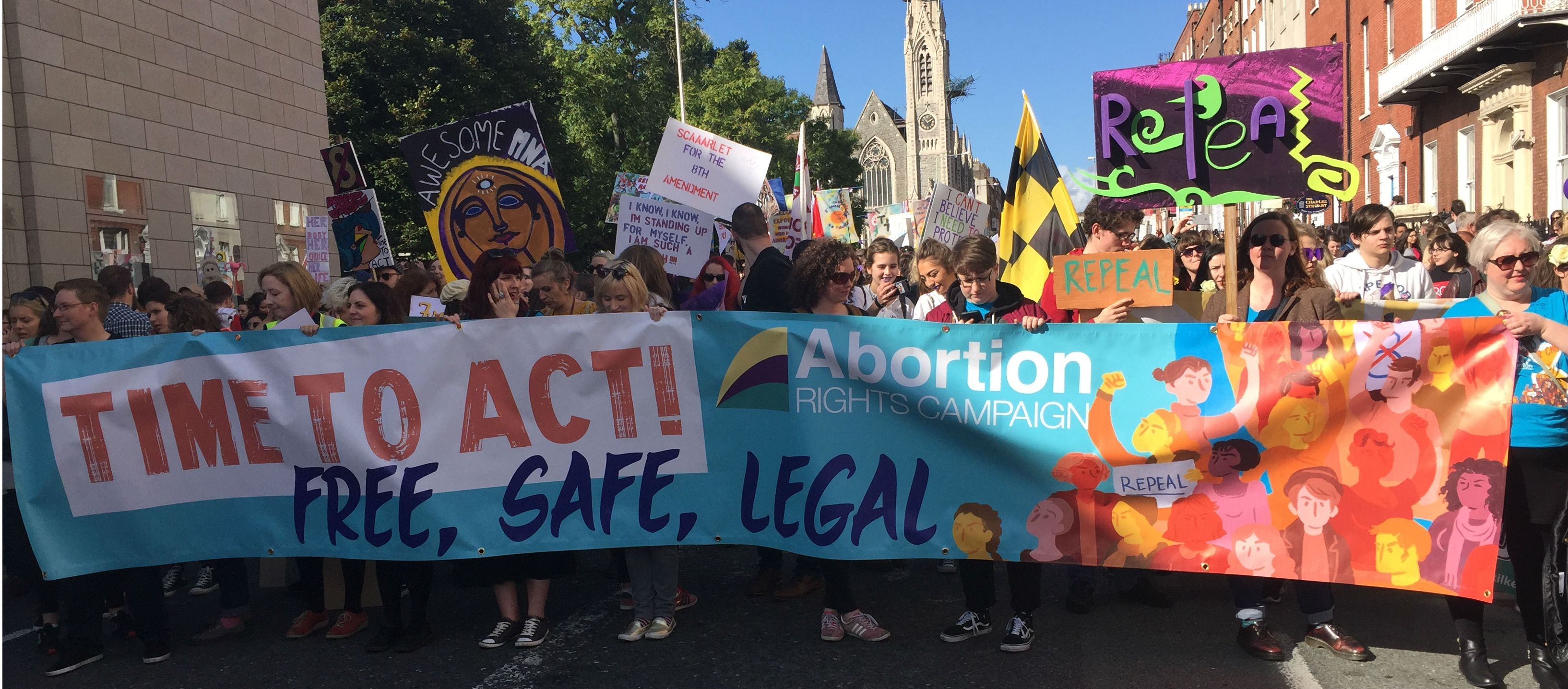 Tens of thousands Attend March for Choice