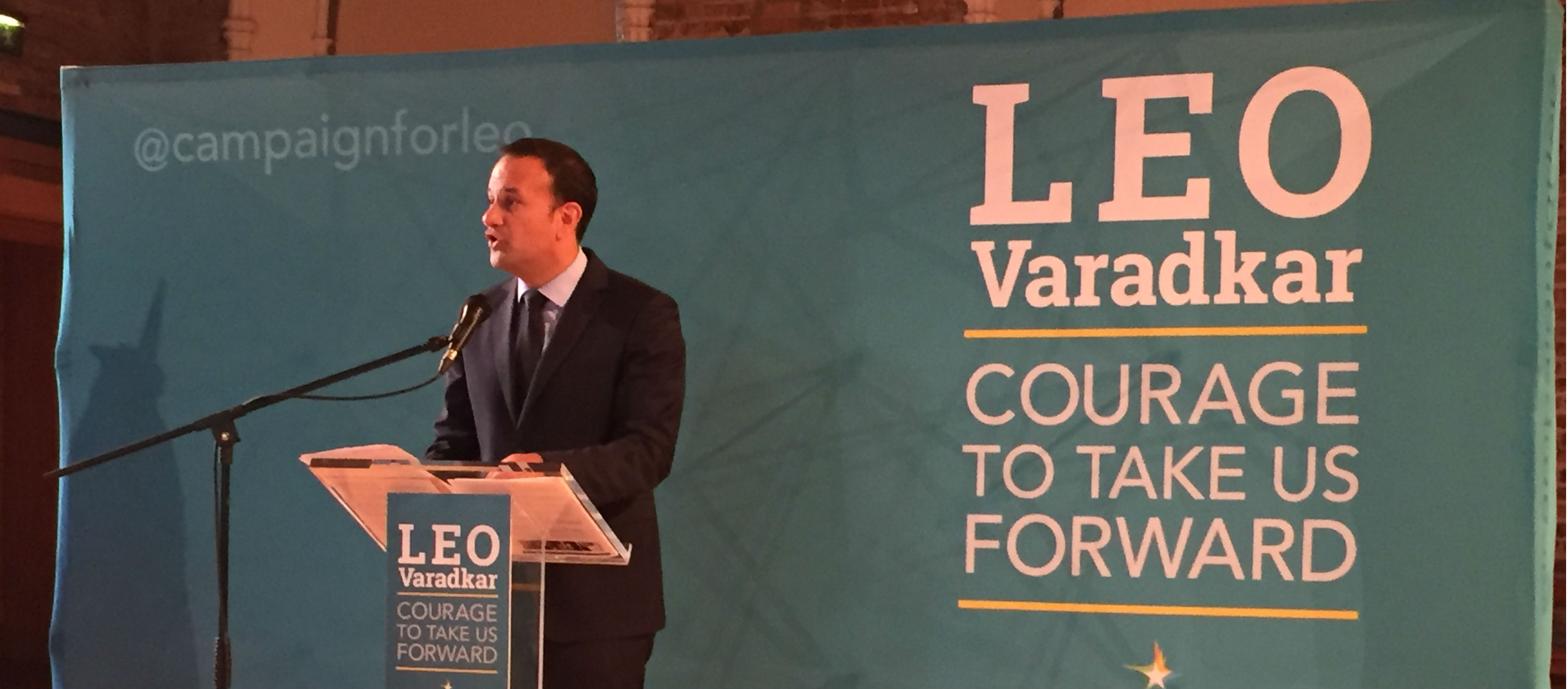 Leo Varadkar Reacts To Apple Tax Ruling