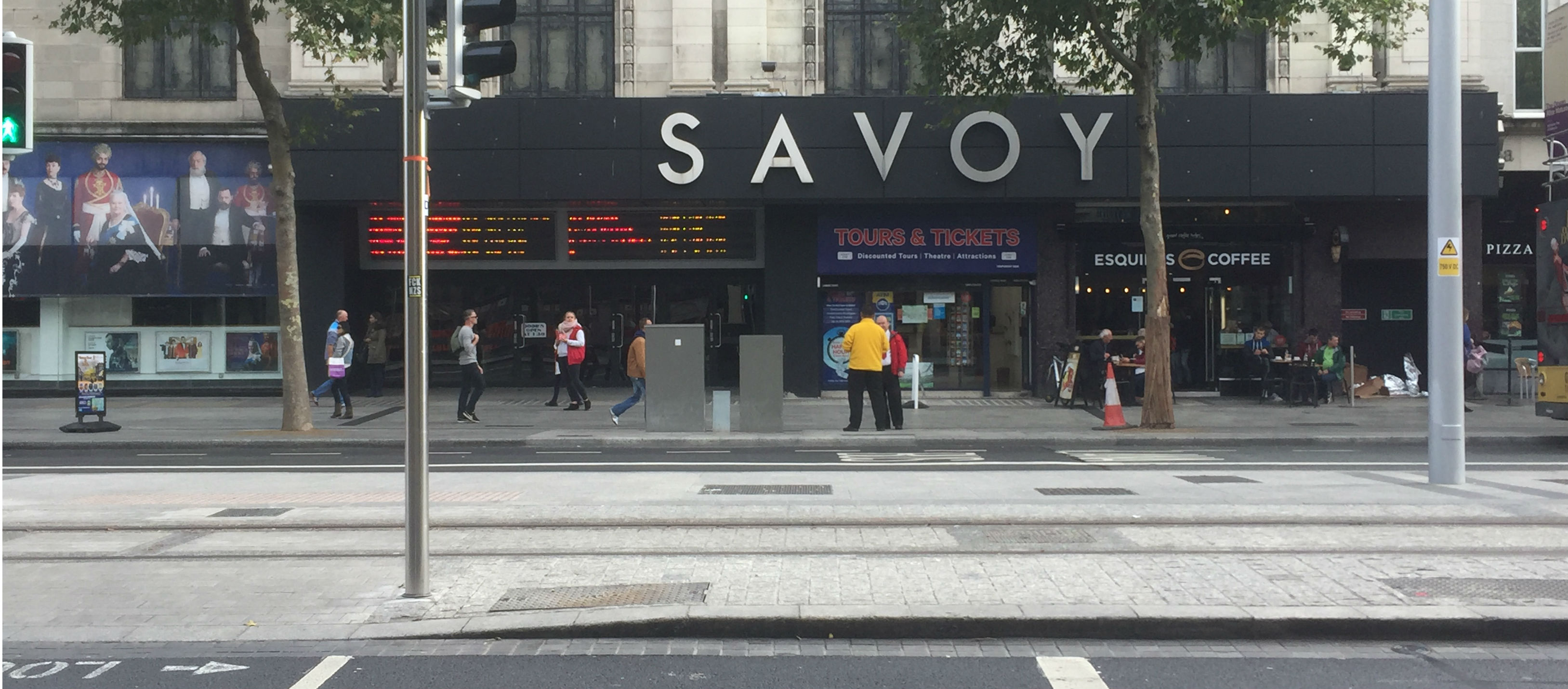 Main Savoy Screen To Be Split