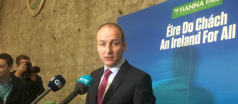 Fianna Fail Ard Fheis Underway