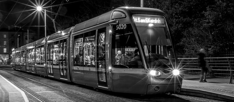 Luas Trams Return To Action
