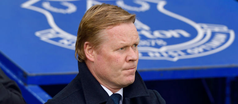 Koeman blames ref for Goodison Park trouble