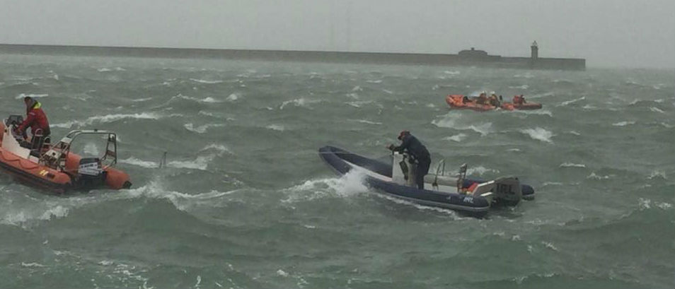 Kids Rescued Off Dun Laoghaire Coast