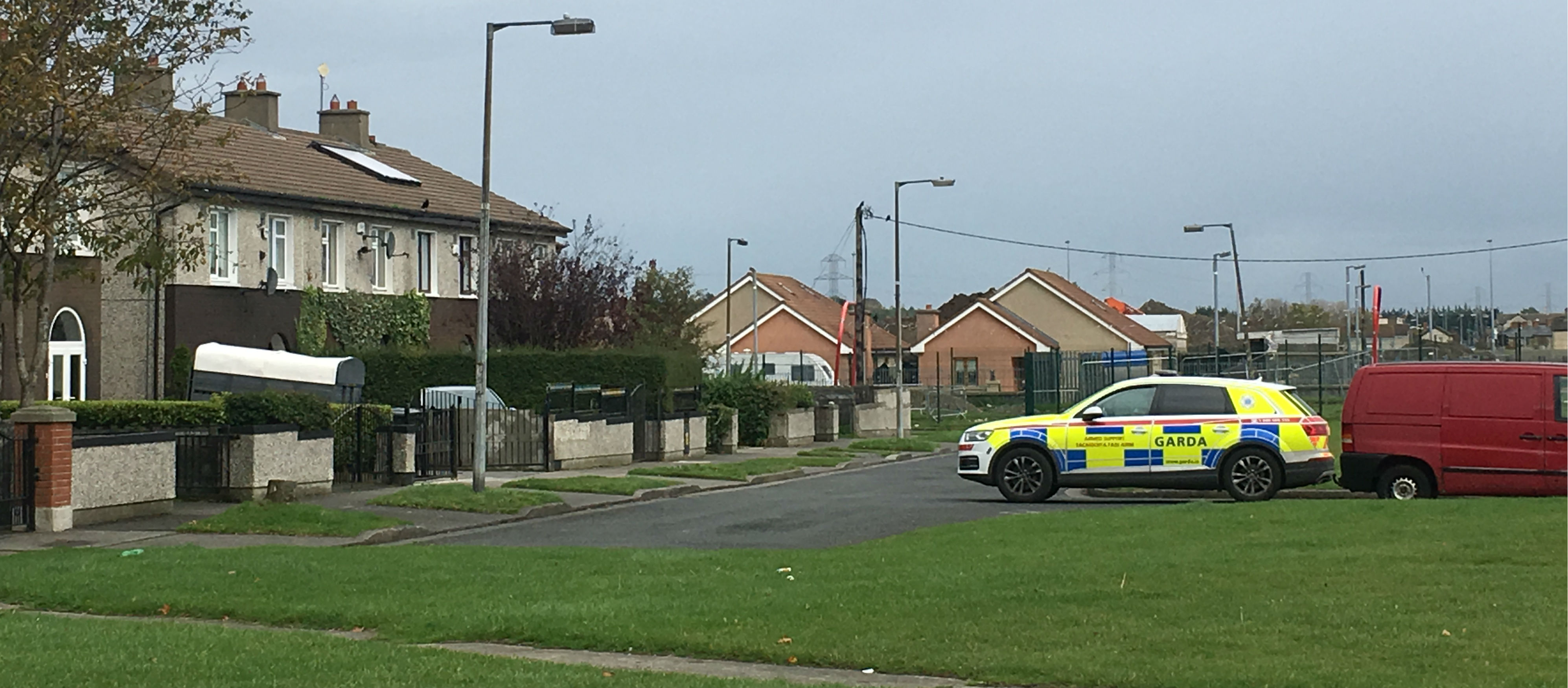 A Manhunt's Over In Tallaght
