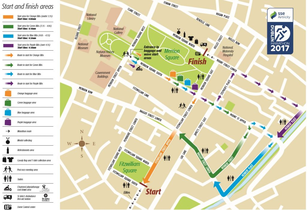 Road Closures In Place For Dublin Marathon