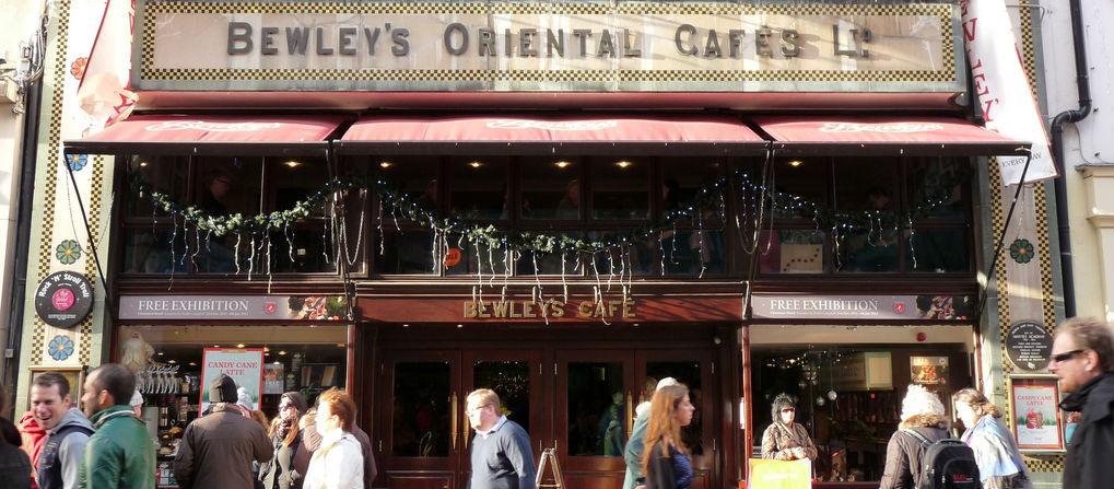 Iconic Grafton St Cafe Back Open