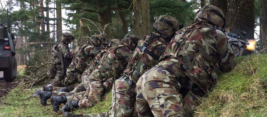 Army Steps Up Terror Training