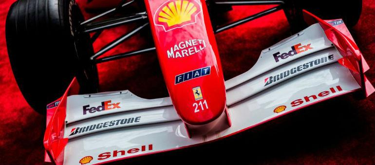 Schumacher ferrari fetches over €6m