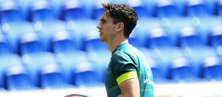 Carbery out with broken arm