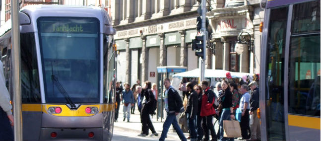 Crash Causes Disruption On Luas Red Line