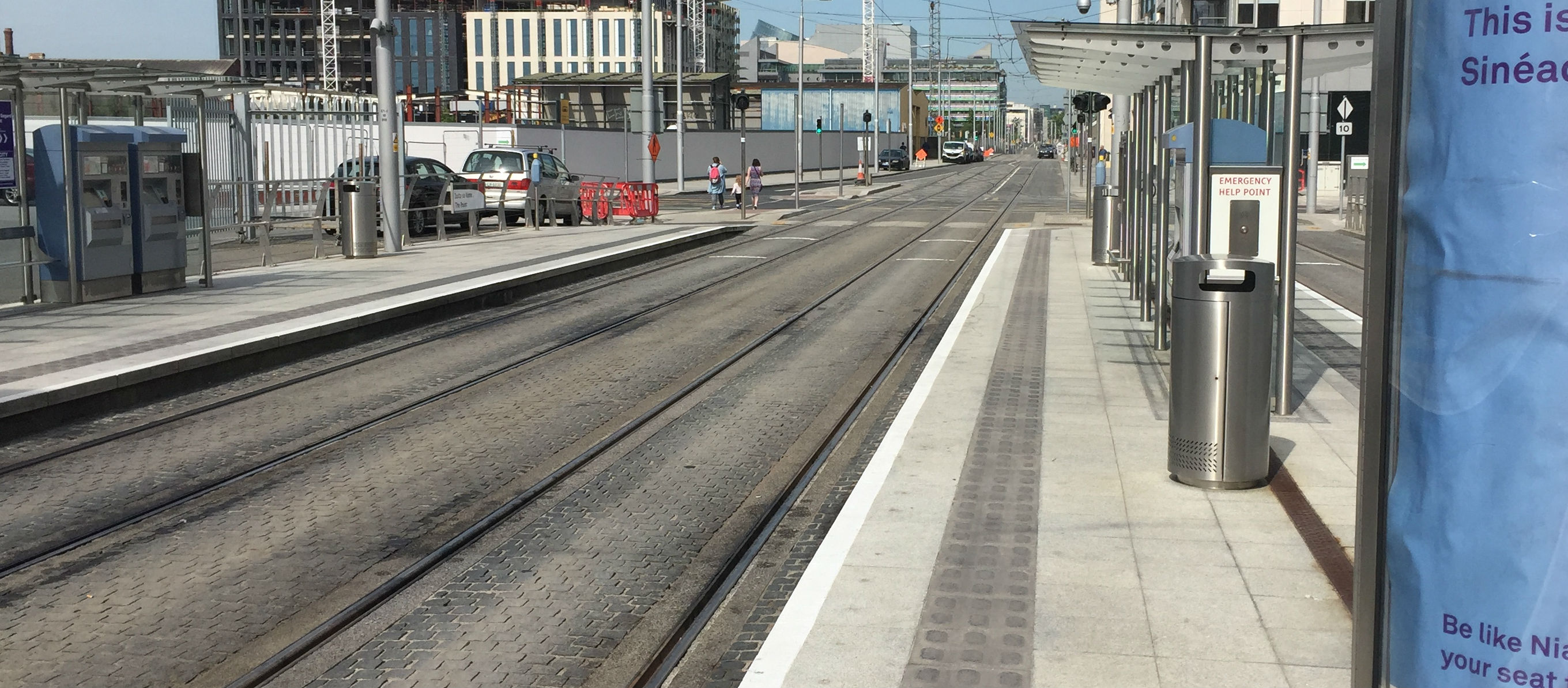 Crackdown On Drivers Blocking The Luas