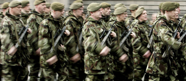 Army Exercise To Cause Dublin Disruption