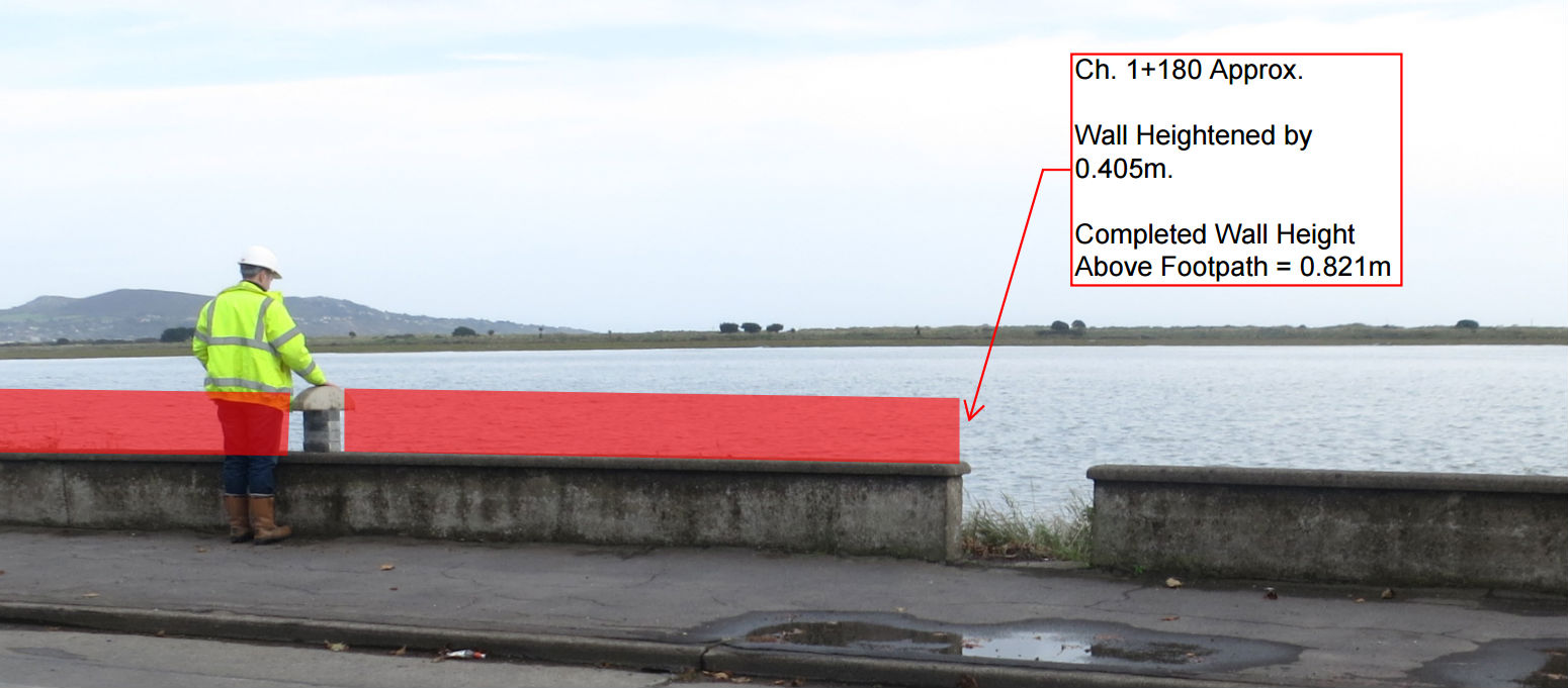Councillors Vote To Lower Clontarf Sea Wall