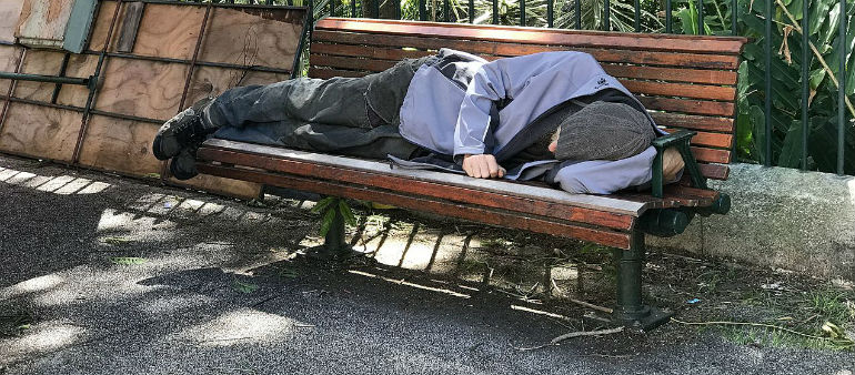 Drop In City Rough Sleepers
