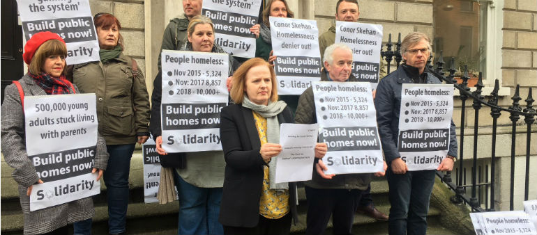 Solidarity Calls For Conor Skehan's Removal