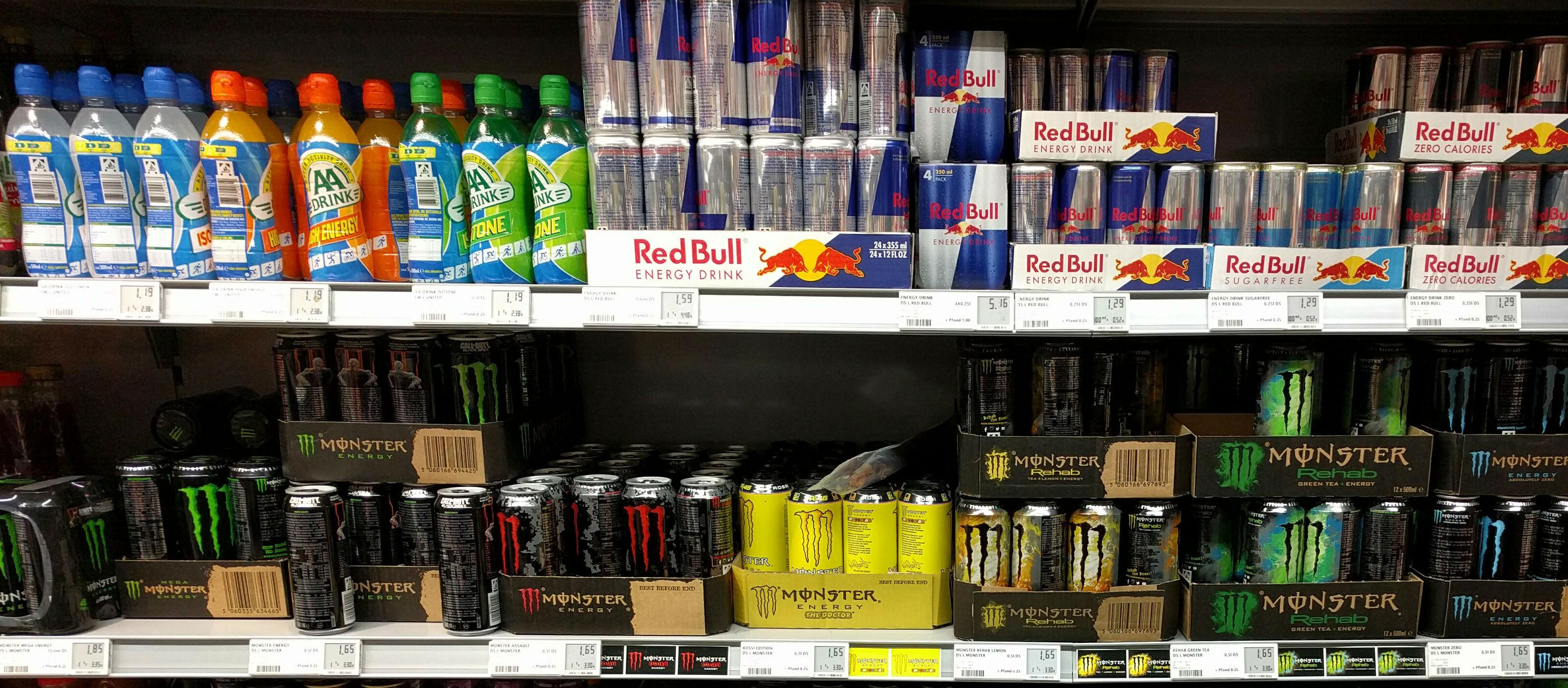 Aldi Bans Energy Drinks For U16s